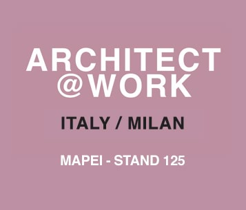 Mapei a Architect@Work Milano 2017