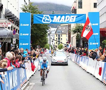 Mapei is Main Sponsor of the UCI Road World Championships 2017