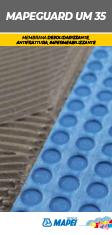 MAPEGUARD UM 35 Membrana desolidarizzante, antifrattura, impermeabilizzante