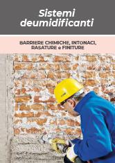 Sistemi deumidificanti: barriere chimiche, intonaci, rasature e finiture