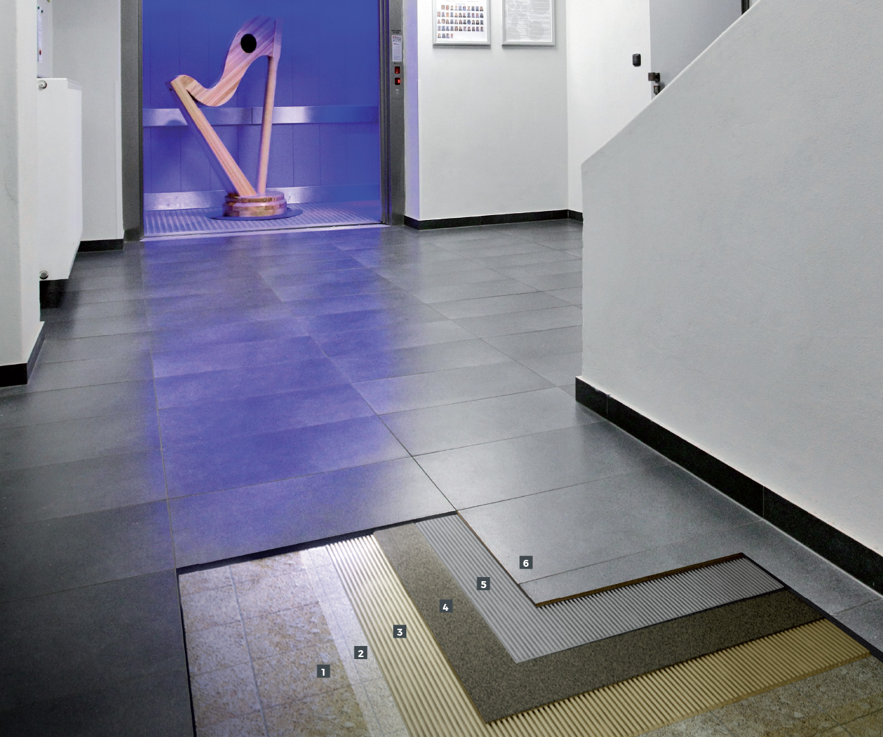 Sistema fonoisolante per la posa di piastrelle ceramiche su vecchia pavimentazione esistente mapei - Posa piastrelle su piastrelle ...